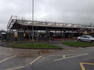 Kingsway Community Centre in Progress