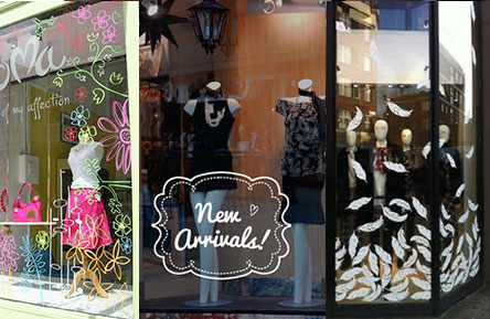 Easy And Low Cost Ideas For Your Spring 2015 Window