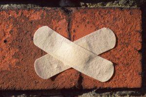 a sealed crack