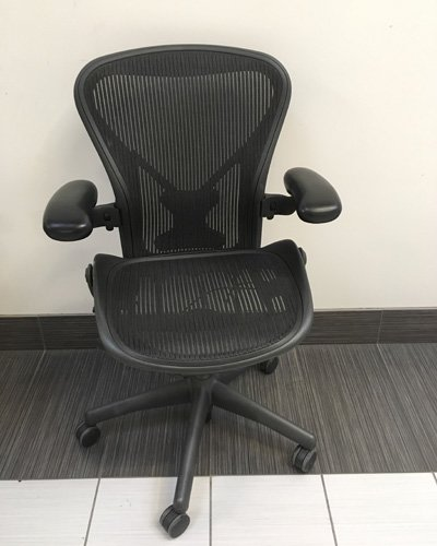 steelcase vintage chair dining seat covers pattern herman miller aeron | used furniture office furniture| toronto gta ontario