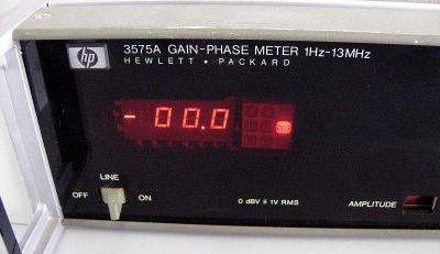 HewlettPackard HP 3575A GainPhase Meter 1Hz  13MHz