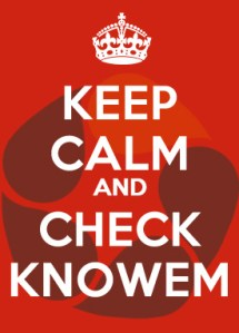 Keep Calm and Check KnowEm