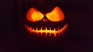 ATTiny85 Flickering Flame circuit for Halloween Jack O Lantern Pumpkin