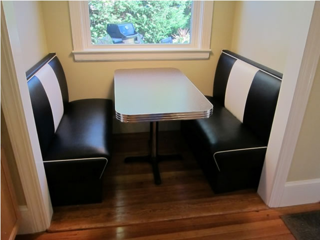 custom kitchen booth islands with wheels buy retro furniture designed for your home or office decor joe s nook providence ri