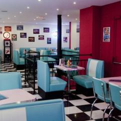 Commercial Restaurant Chairs Wheelchair Jevil Hd Diner - Châtelet, Paris, France: 50s Retro By Bars & Booths