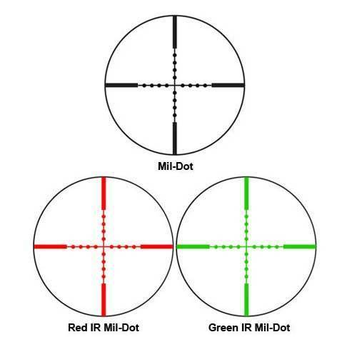 4x30mm IR Electro Sight Multi-Rail Tactical Scope Green