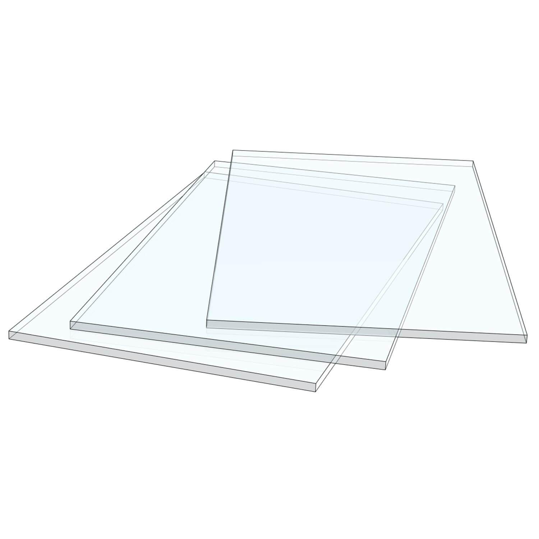 Glass For Breakable Key Box Ax 3 Pcs