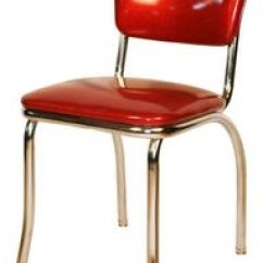 Red Kitchen Chairs Hardware For Cabinets Diner Chair 195039 S Vinyl