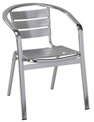 outdoor aluminum chairs red banff chair