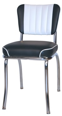 Diner Chairs | Retro 1950s Style Kitchen Chairs | Chrome ...