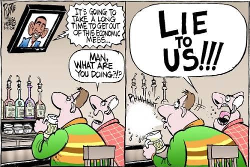 Lie to us!