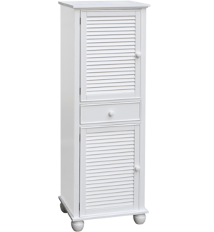 Classic Rustic - Nantucket_White_Tall_Cabinet