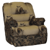 Western Recliner-Harvest With Mule Deer Custom Old West Furniture