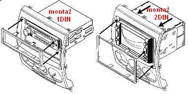 RAMKI radiowe+głośnikowe, MAZDA, Mazda 5 2005-2010 ramka