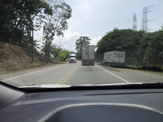 Freightliner ahead