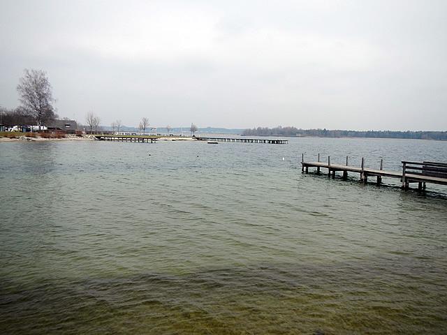 Der See beim Bad