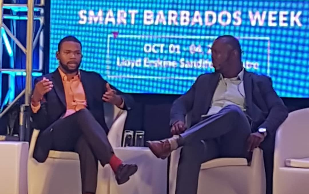 Bartlett Morgan Kolade Nurse at Smart Barbados Week 2019
