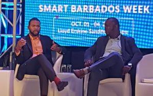 Bartlett Morgan Kolade Nurse at Smart Barbados Week 2019