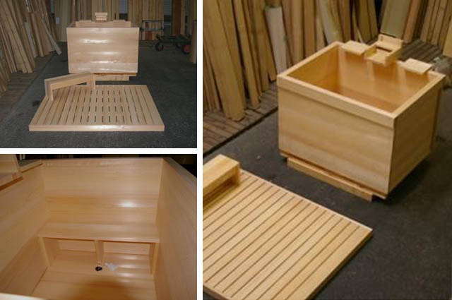 Ofuro Soaking Hot Tubs Hinoki Tub For Scotland