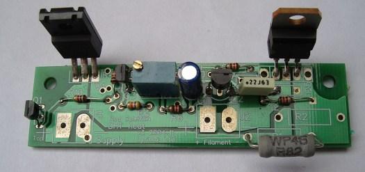 Rod Coleman's DHT filament regulator