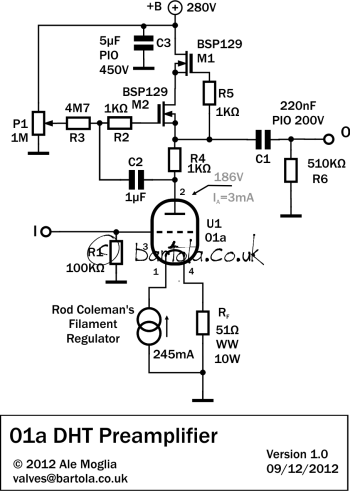 Dht Amplifier Schematic