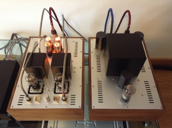 Rui's 26 DHT preamp in operation