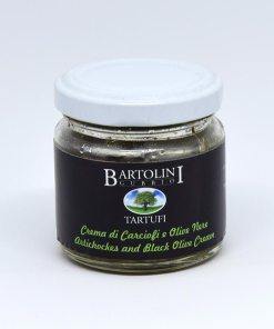 crema carciofi olive nere