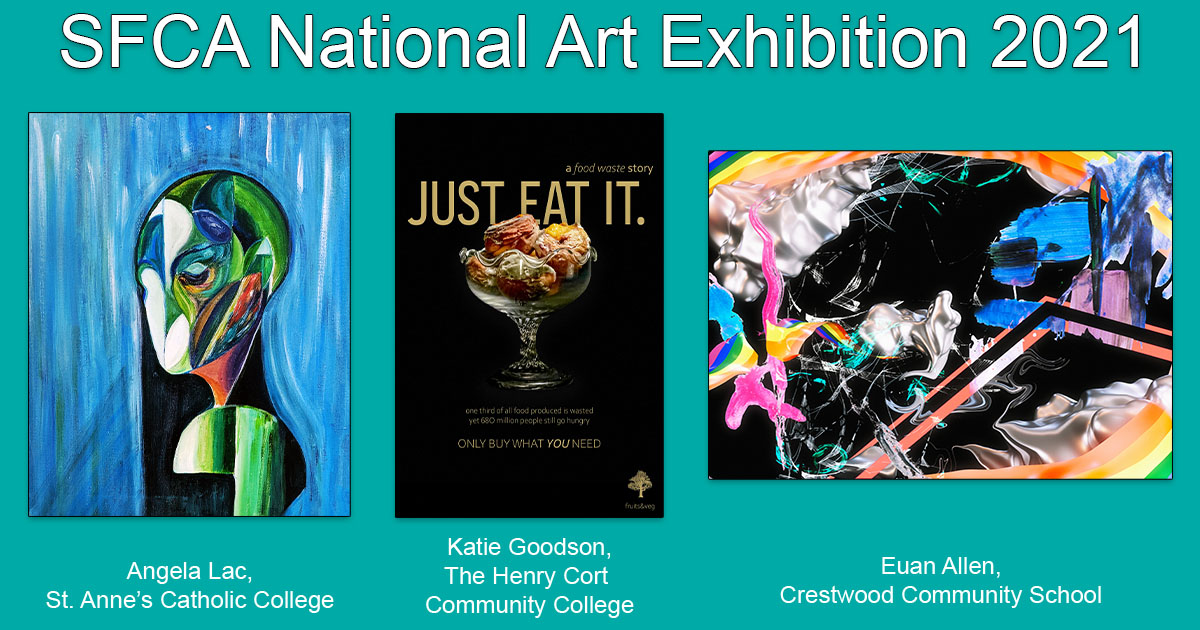 Barton Peveril's Artists Featured in National Exhibition
