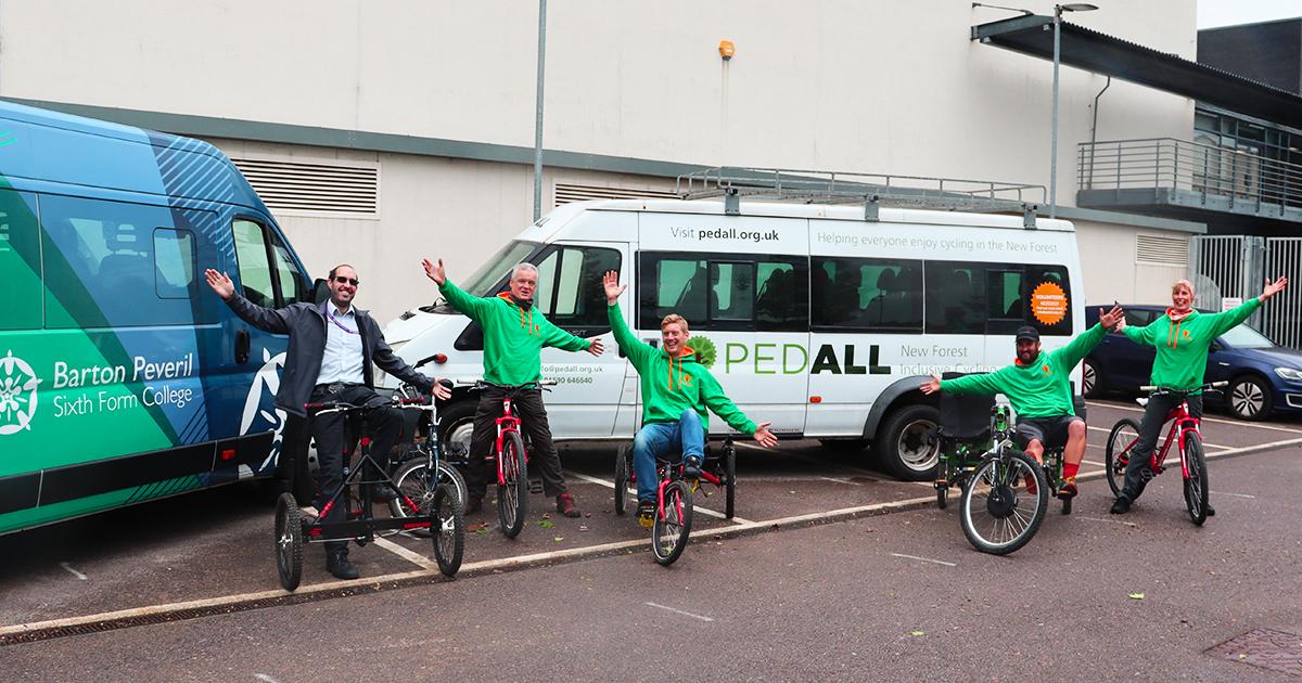 Barton Peveril Donate Minibus To Support Local Charity