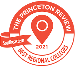 Princeton Review Best Regional Colleges badge