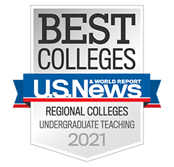US NEWS Undergraduate Teaching badge