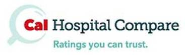Image result for cal hospital compare logo