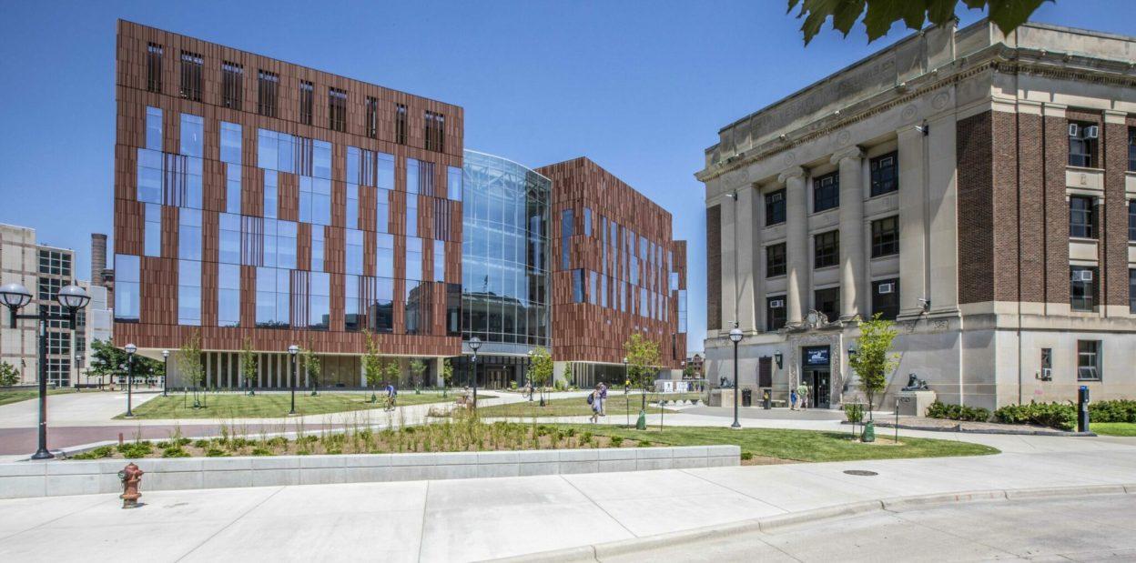 UM Biological Science Building Exterior