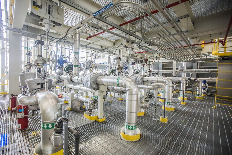 Holland Energy Plant interior