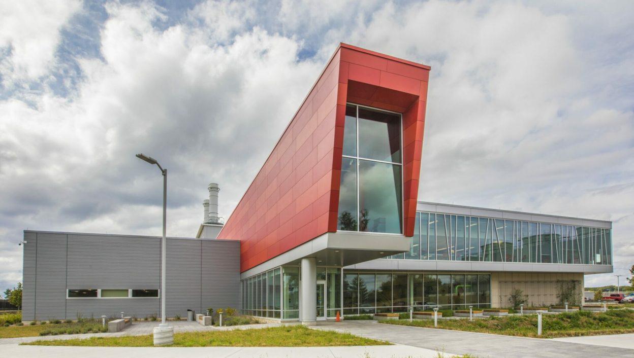 Holland Energy Plant exterior entrance