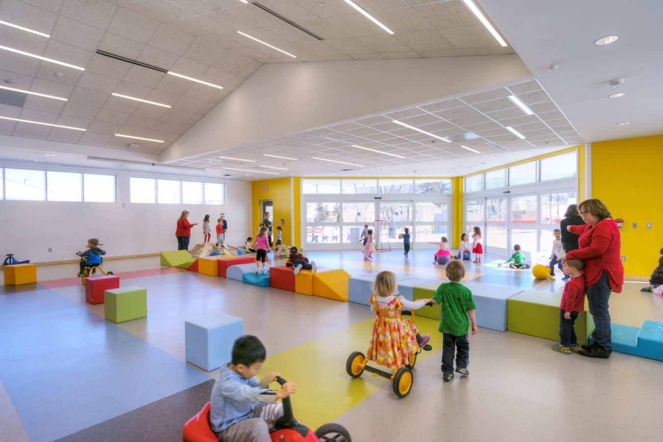 Barton Malow_Troy Early Childhood Center_Indoor Play Area