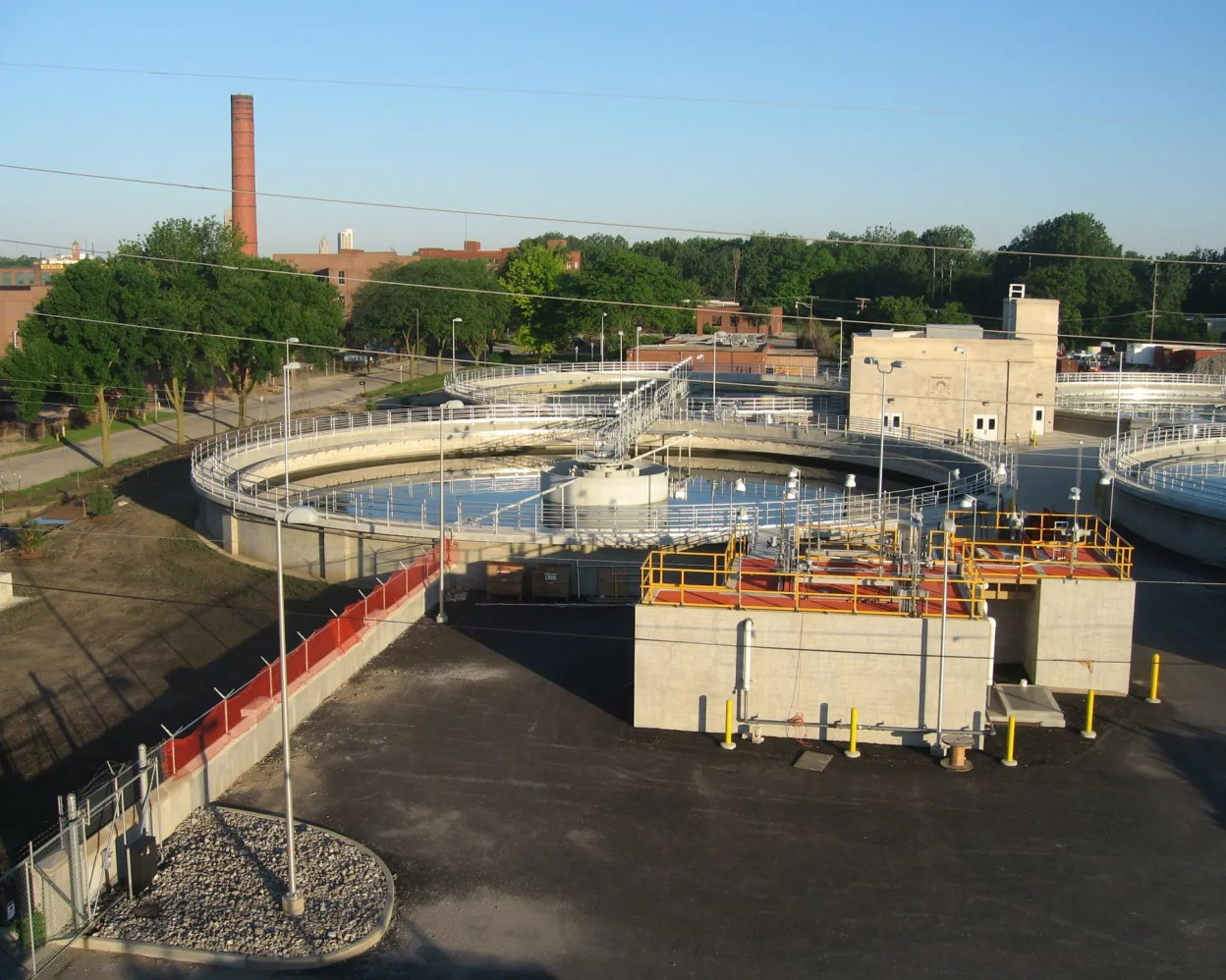 Fort Wayne WWTP Exterior Overview