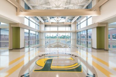 Louisa County High School_Atrium