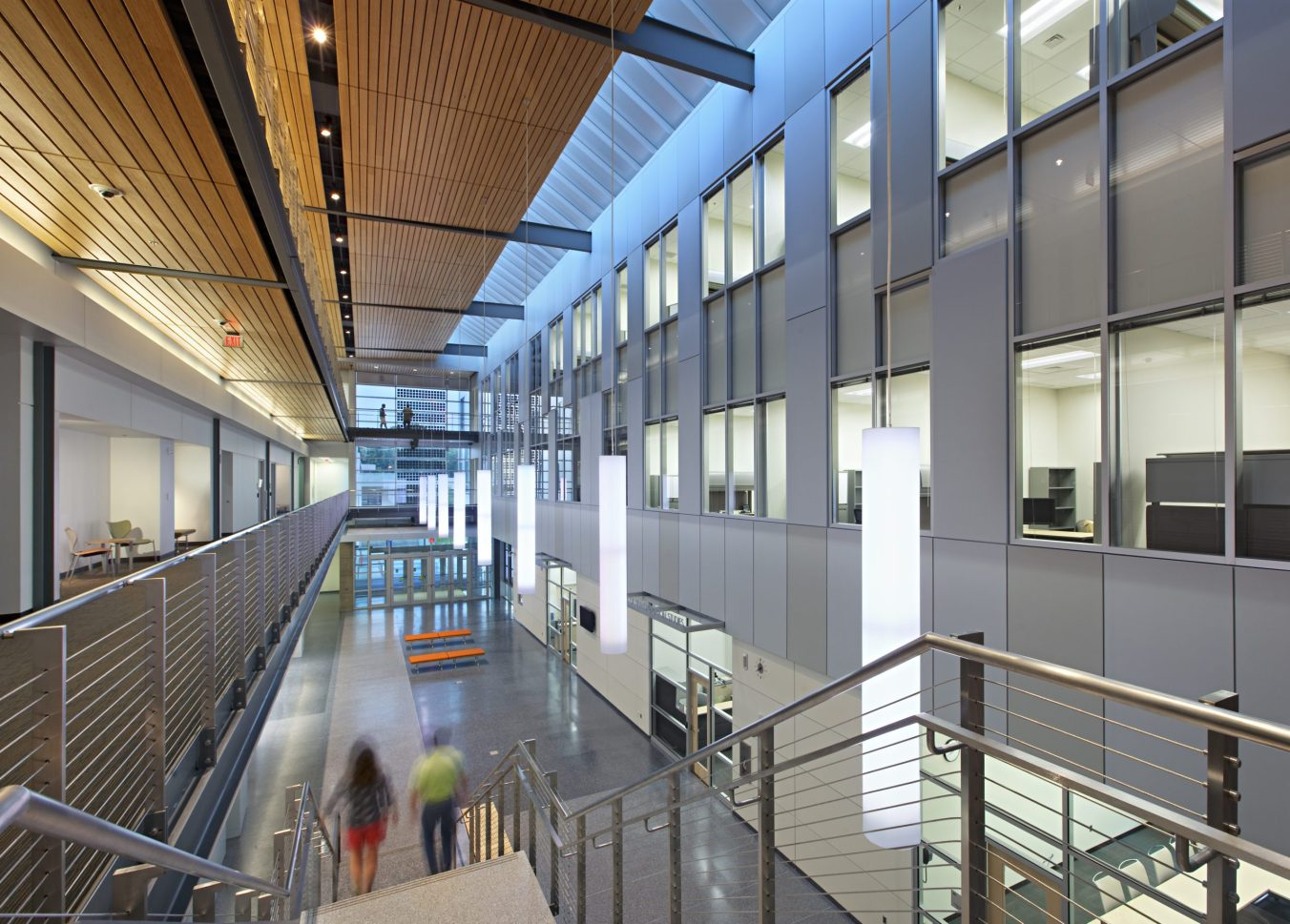 Morgan State University Center for Built Environment and Infrastructure Studies Lobby