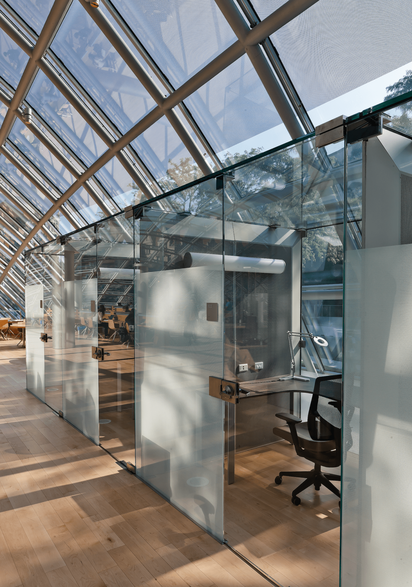 Private Library Study Rooms: Joe And Rika Mansueto Library