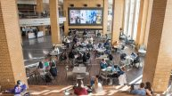 University of Notre Dame Duncan Student Center Interior