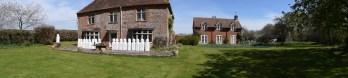 A quick visit to Church Farm house