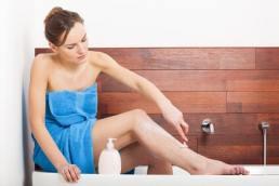 Haarentfernung bei der Frau