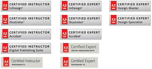 adobe certifications