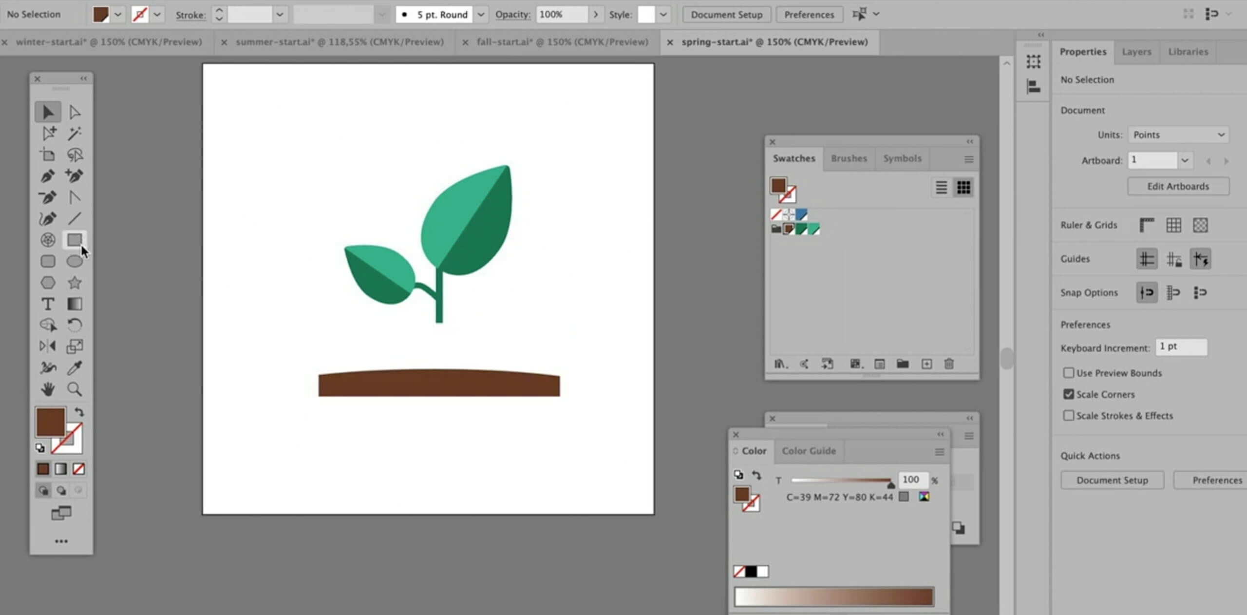 Creating icons with Illustrator