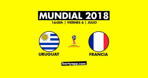 cuartos final mundial francia uruguay