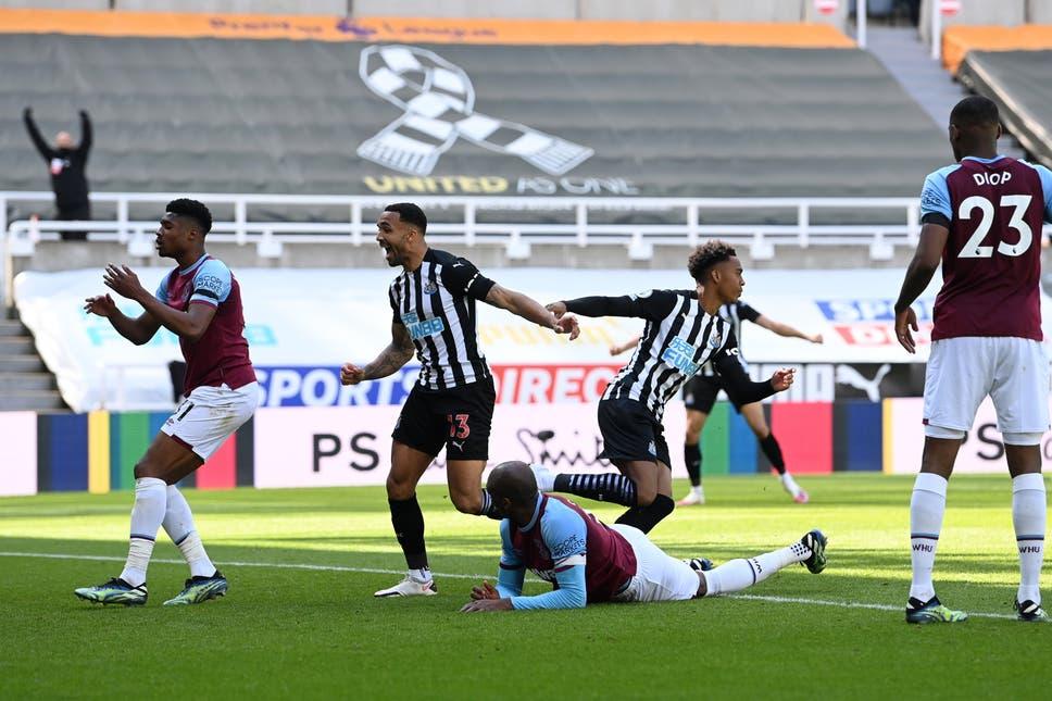 Newcastle vs West Ham United