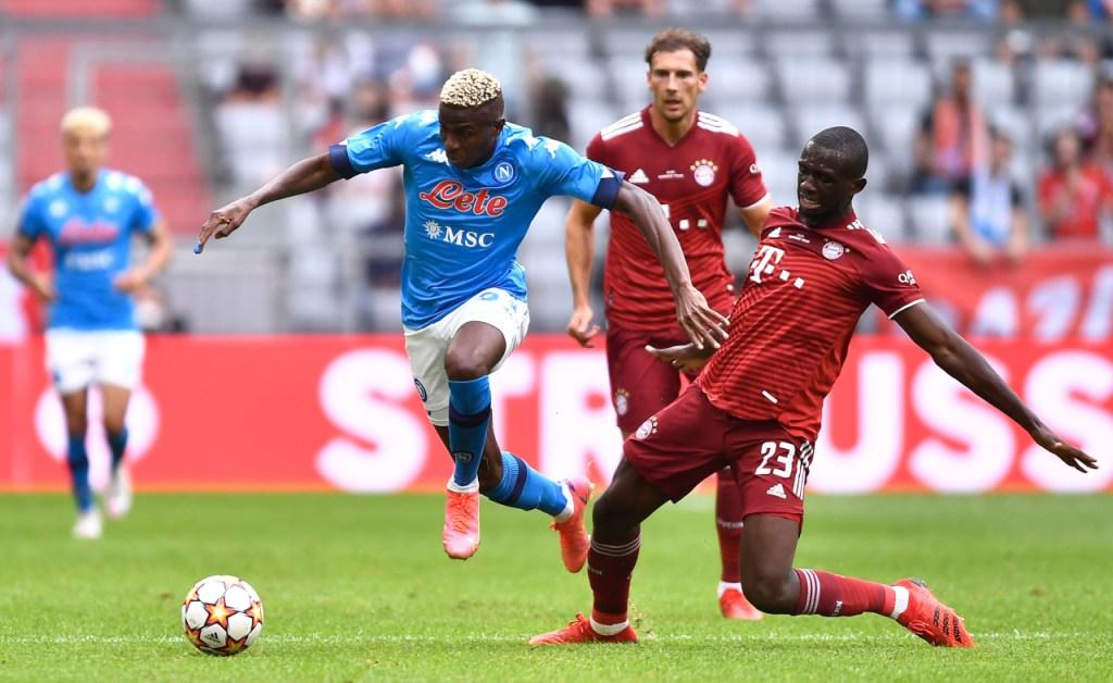 Bayern Munchen vs Napoli
