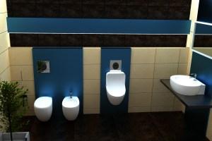 wc z pisuarem