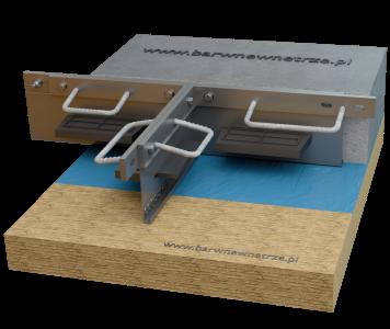wizualizacja dylatacji betonu, wizualizacja produktu